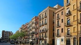 Placa de Λα Font Tarragona κατά τη διάρκεια των μεσογειακών παιχνιδιών τον Ιούνιο του 2018 στοκ εικόνα