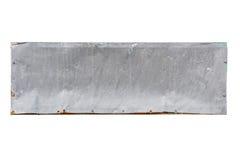 Placa de aço velha Imagem de Stock