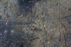 Placa de aço velha com oxidação Foto de Stock Royalty Free