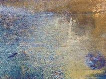 Placa de acero oxidada Fotografía de archivo libre de regalías