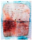Placa de acero oxidada colorida Fotografía de archivo libre de regalías