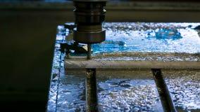 Placa de alumínio de trituração do CNC filme