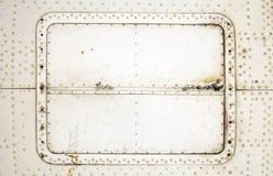 Placa de aluminio Imagen de archivo