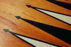 Placa de Backgammon Imagens de Stock Royalty Free