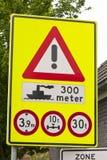 Placa de calle Foto de archivo