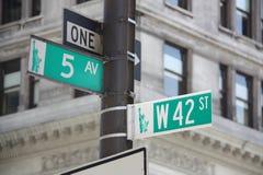 Placa de calle Foto de archivo libre de regalías