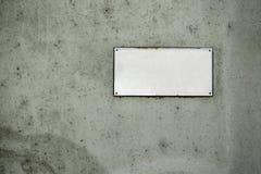 Placa de calle Imagen de archivo