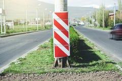 Placa de calle roja foto de archivo libre de regalías