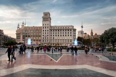 Placa De Catalunia Royalty Free Stock Photo