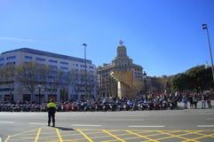 Placa de Catalunya,Barcelona Royalty Free Stock Image
