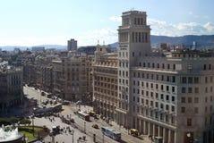 Placa De Catalunya. Barcelona. Spain Stock Image
