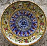 Placa de Ceramisc de Toscânia foto de stock royalty free