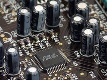 Placa de circuito 1 foto de stock
