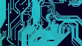 Placa de circuito video estoque