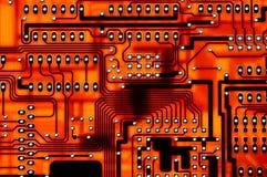 Placa de circuito Imágenes de archivo libres de regalías