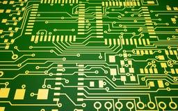 Placa de circuito Imagen de archivo libre de regalías