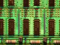 Placa de circuito imagen de archivo