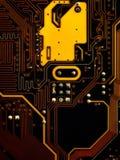 Placa de circuito Fotografia de Stock Royalty Free