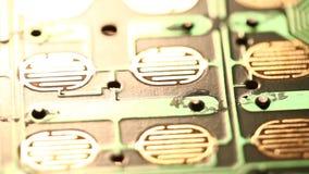 Placade circuito vídeos de arquivo