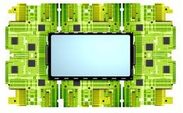 Placa de circuito Fotografia de Stock