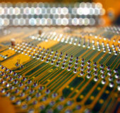 placa de circuito foto de stock