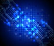 Placa de circuito abstracta de la tecnología Fotografía de archivo