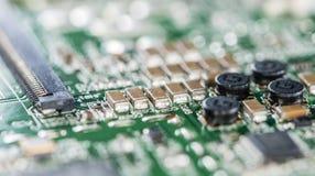 Placa de circuito (close-up disparado) Imagens de Stock Royalty Free