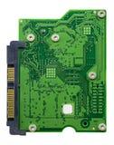 Placa de circuito com conectores fotos de stock