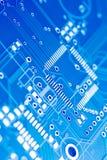 Placa de circuito da alta tecnologia Fotografia de Stock Royalty Free