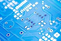 Placa de circuito da alta tecnologia Fotos de Stock Royalty Free