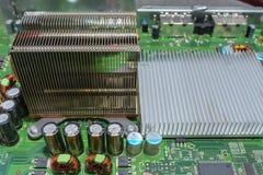 Placa de circuito da eletrônica foto de stock