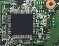 Placa de circuito de alta tecnología del microprocesador Imagen de archivo