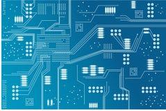 Placa de circuito de Eclectronic Foto de Stock Royalty Free