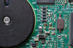 Placa de circuito de HDD Fotos de Stock