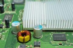 Placa de circuito de la electrónica Imágenes de archivo libres de regalías