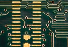 Placa de circuito del ordenador Imagen de archivo libre de regalías