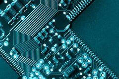Placa de circuito del ordenador Imagen de archivo