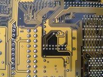 Placa de circuito do computador fotografia de stock royalty free