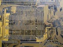 Placa de circuito do computador foto de stock