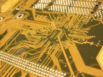 Placa de circuito do computador foto de stock royalty free