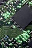 Placa de circuito do computador Fotografia de Stock