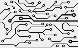 Placa de circuito do computador Fotos de Stock