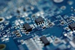 Placa de circuito do PC. imagem de stock royalty free