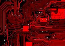 Placa de circuito electrónica Foto de archivo libre de regalías