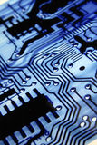Placa de circuito eletrônico Foto de Stock