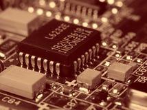 Placa de circuito eletrônico Imagem de Stock Royalty Free