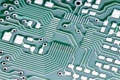 placa de circuito eletrônico Foto de Stock Royalty Free