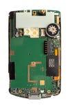 Placa de circuito esperta do telefone isolada Fotografia de Stock Royalty Free