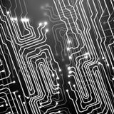 Placa de circuito Fundo da tecnologia Fotos de Stock Royalty Free