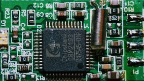 Placa de circuito genérica foto de stock royalty free